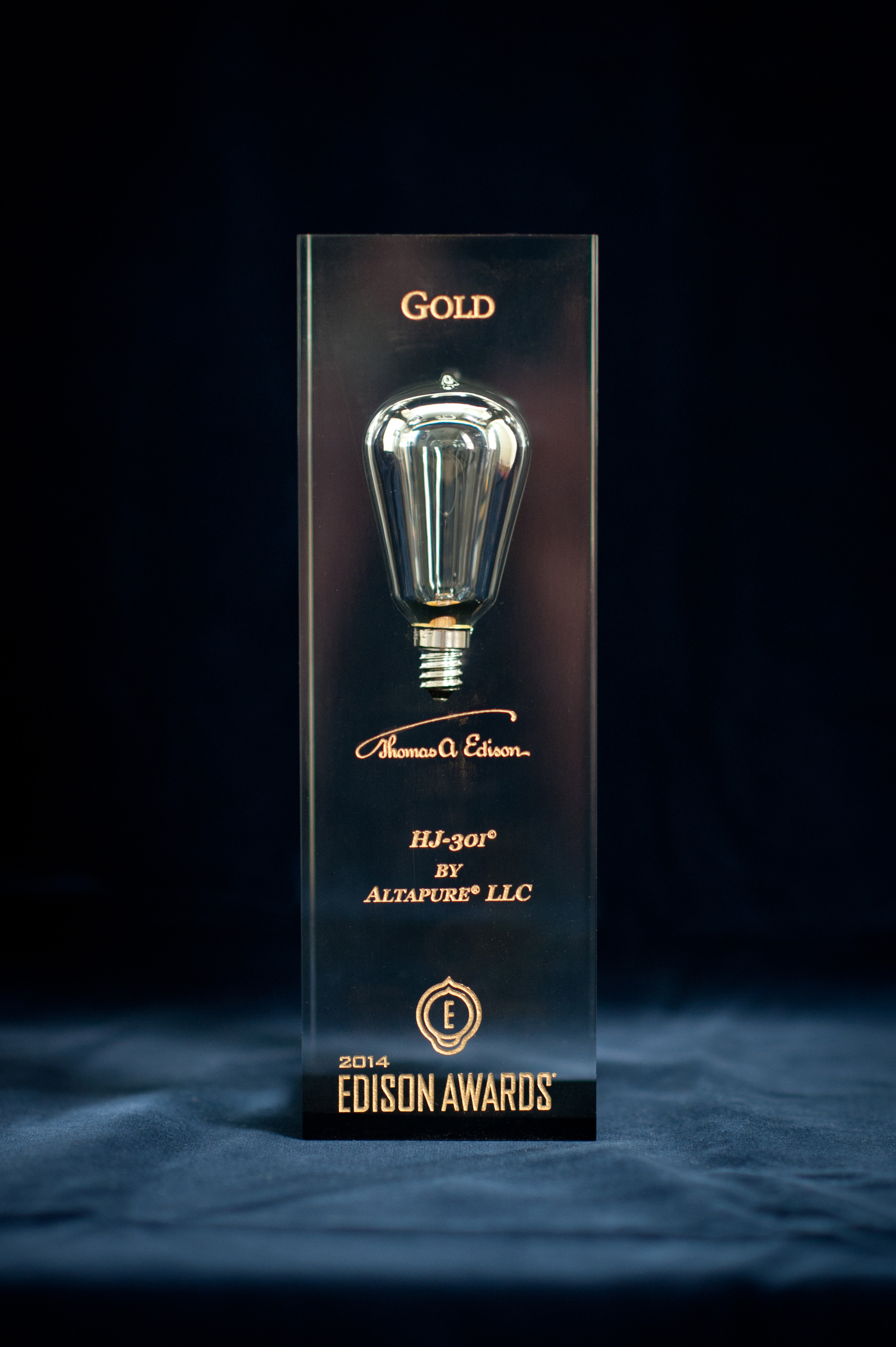 Altapure Edison Gold Award